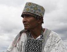 шаманы проводят ритуал аяуаски